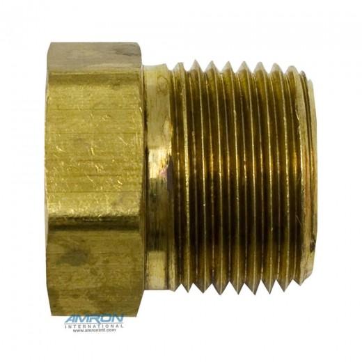 Parker ptr pipe thread reducer inch npt brass
