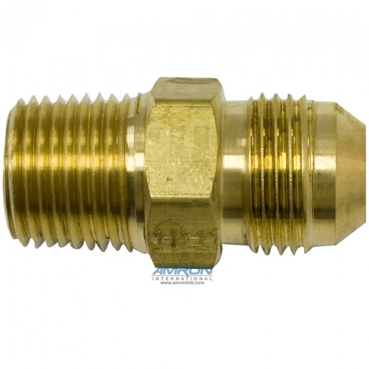 FTX Male Connector 5/8 in. JIC and 1/2-14 in. NPT - Brass