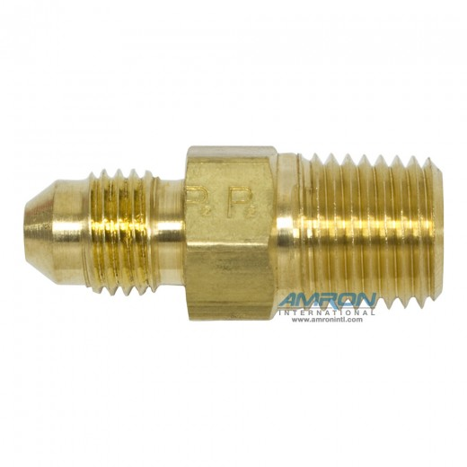 FTX Male Connector 1/4 in. JIC and 1/4-18 in. NPT - Brass