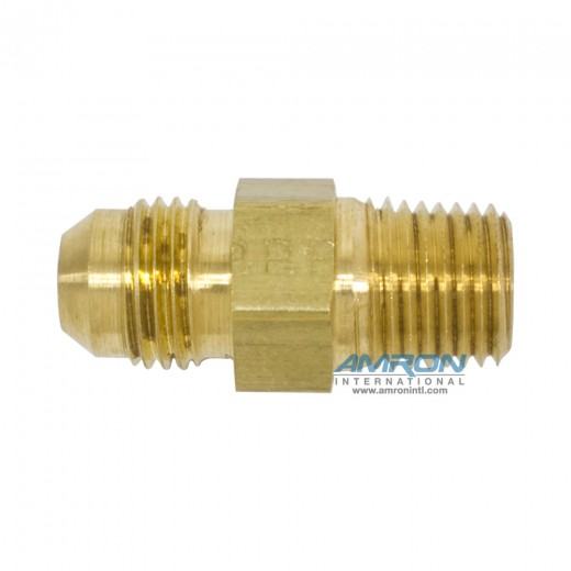 FTX Male Connector 3/8 in. JIC and 1/4-18 in. NPT - Brass
