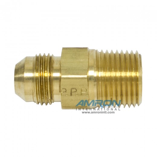 FTX Male Connector 1/2 in. JIC and 1/2-14 in. NPT - Brass