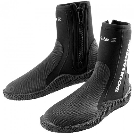 Delta Diving Boots 5MM Black - 2015 Model