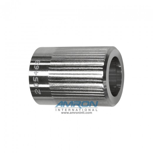 G-FLS-S Female Stainless Steel Locking Sleeve 1 in. Diameter for Size G Rubber Molded Connectors