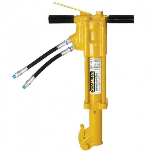 BR45350 Hydraulic Underwater Light To Medium Duty Breaker - 1 Inch Shank (Includes Hose Whips & Couplers)