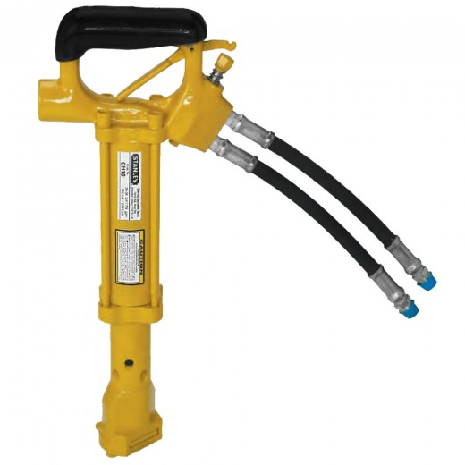 CH18311 Hydraulic Underwater Chipping Hammer - 0.58 Inch Shank (Includes Hose Whips; Excludes Couplers)