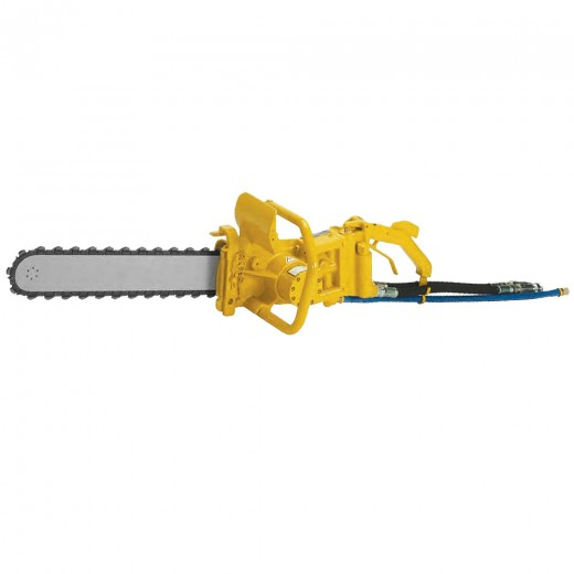 DS11 Hydraulic Underwater Diamond Chainsaw (Excludes Bar & Chain; Includes Hose Whips & Couplers)