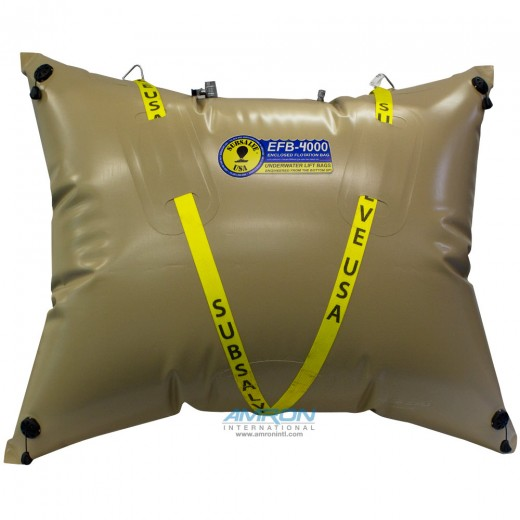 Enclosed Flotation Commercial Lift Bag - 4,400 lbs (2,000 kg) Lift Capacity