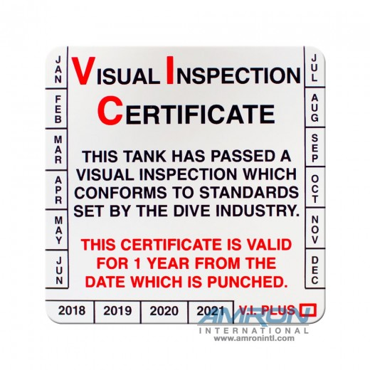DS05 Visual Tank Inspection Stickers