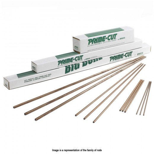 PC/3836-25 Ultrathermic Prime Cut Topside Cutting Rods 3/8 in. x 36 in. - 25 Rods