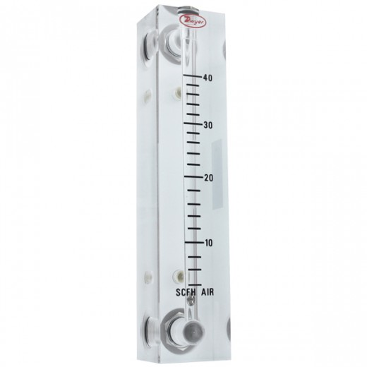 VFB-65 - Visi-Float Flowmeter - 4 in. Scale - LPM Air - 0.2-4 Range