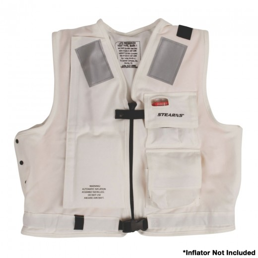 U.S. Navy MK1 Inflatable Vest Shell  Only - White