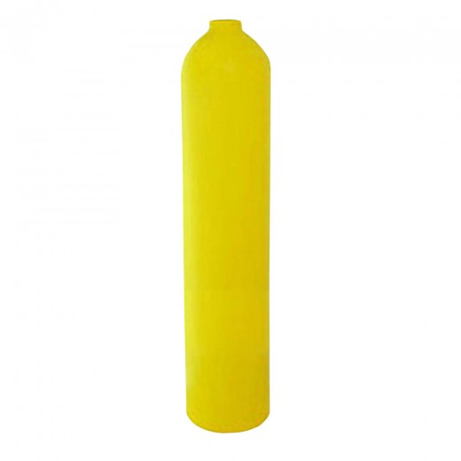 AL30 Aluminum SCUBA Cylinder with No Valve - Yellow