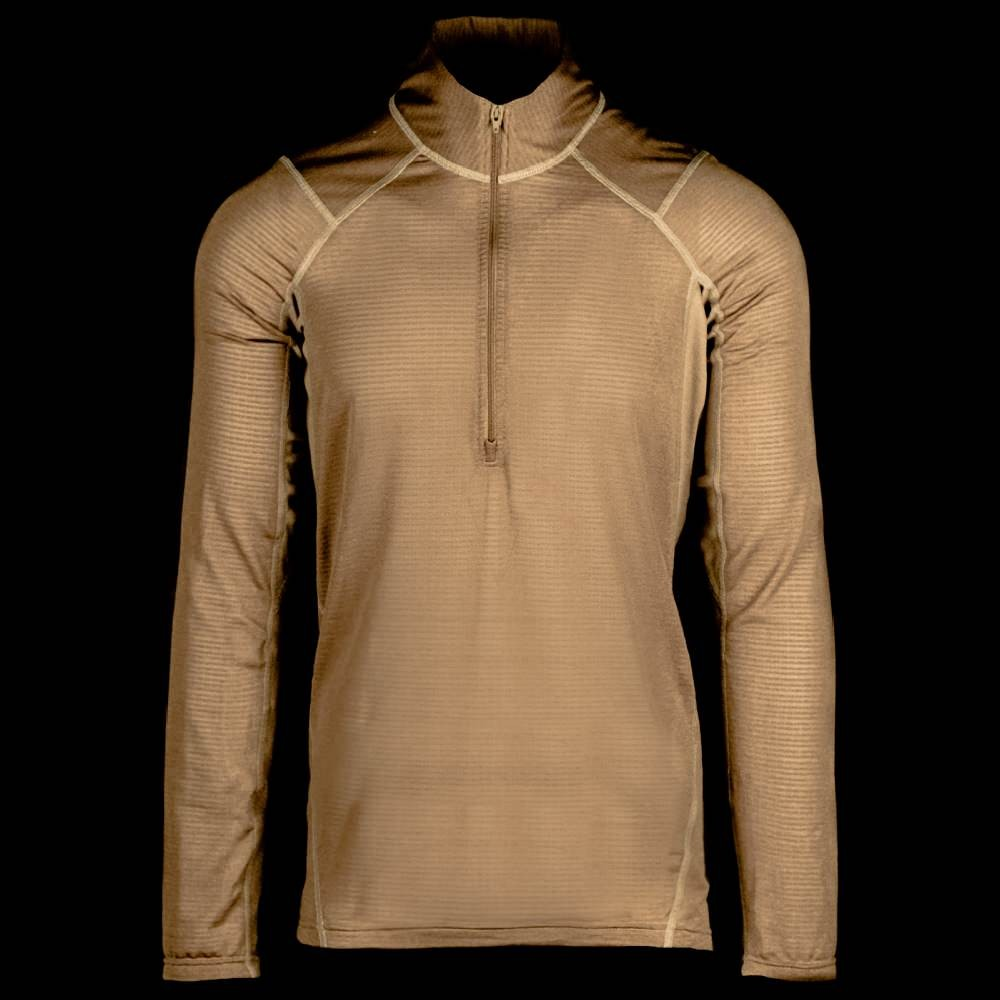 Beyond Clothing A1 Aether Pullover Coyote