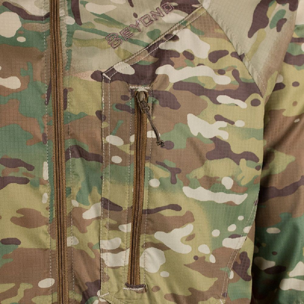 Beyond Clothing A4 Wind Shirt Multicam