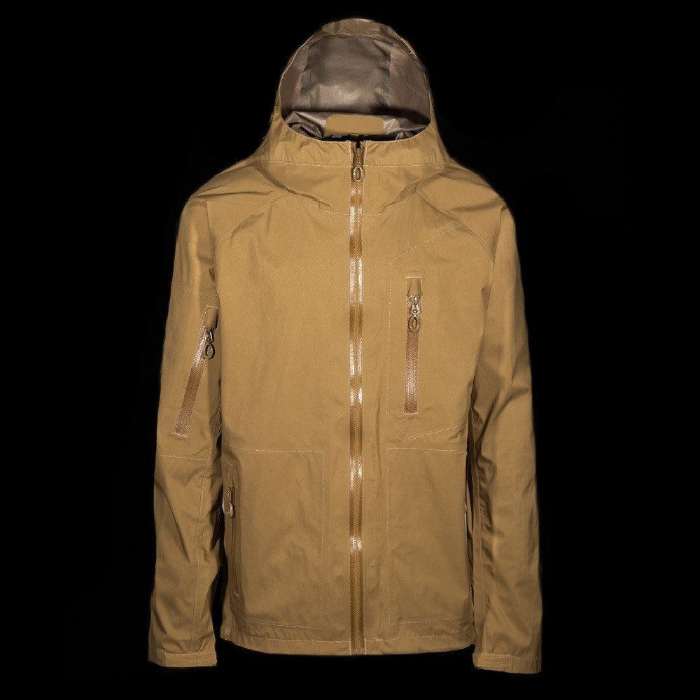 Beyond Clothing A6 Rain Jacket Coyote