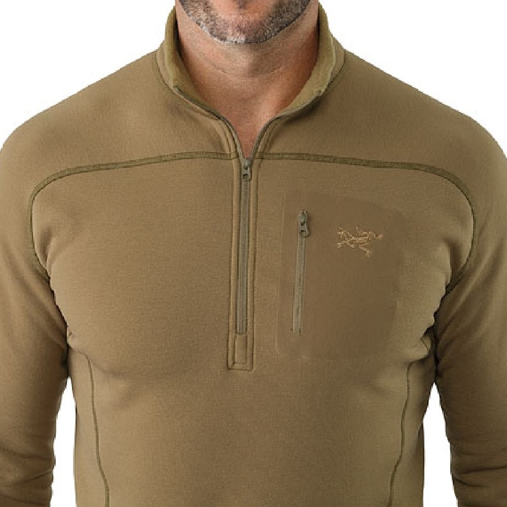 Arc'teryx Cold WX Zip Neck SV - Crocodile