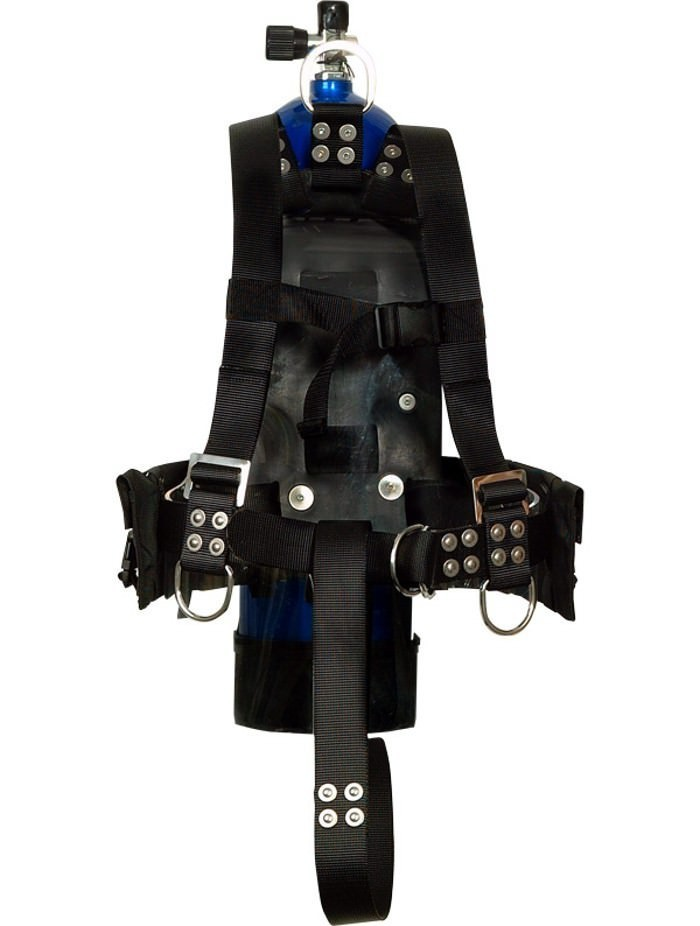 Atlantic Diving Equipment MK-21 Integrated Dive Vest - Small (Tank not included)