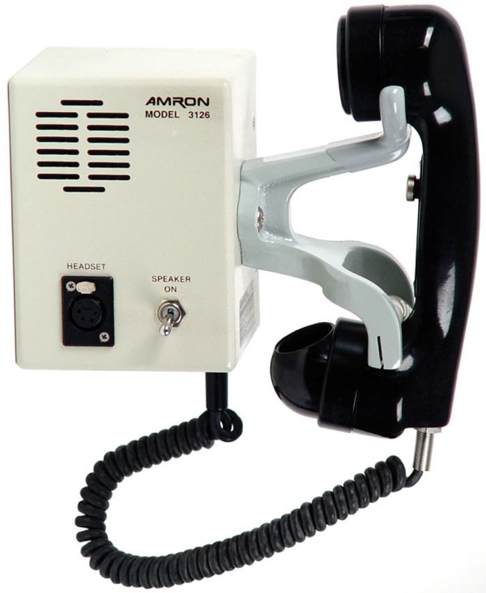 Amron 3126 Outer-Lock Combo Box with Sound Powered Phone