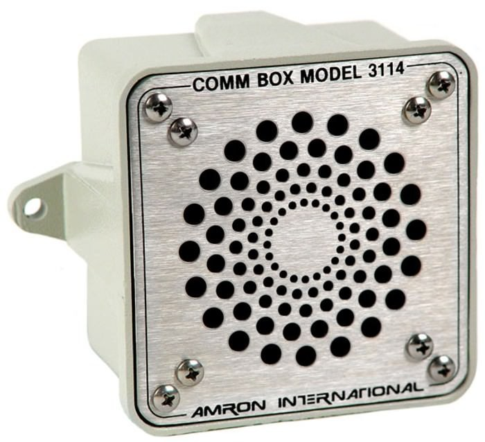 Amron Model 3114 Talk Back Speaker - Front