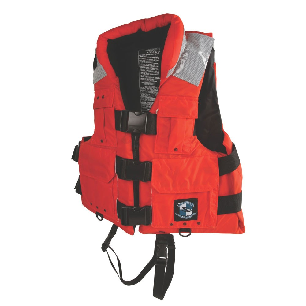 Stearns Search and Rescue Vest Type III - Orange