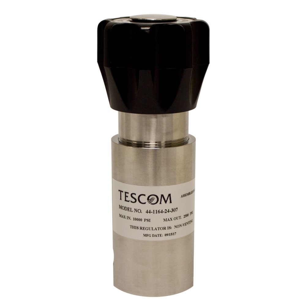 TESCOM Pressure Reducing Regulator Steel 20-6000 PSIG 44-1164-24-307