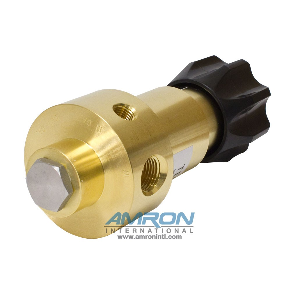 Tescom Pressure Reducing Regulator 0-300 PSIG - Brass 44-1312-2081-056