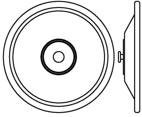 550-0007-01 Exhaust Diaphragm Assembly