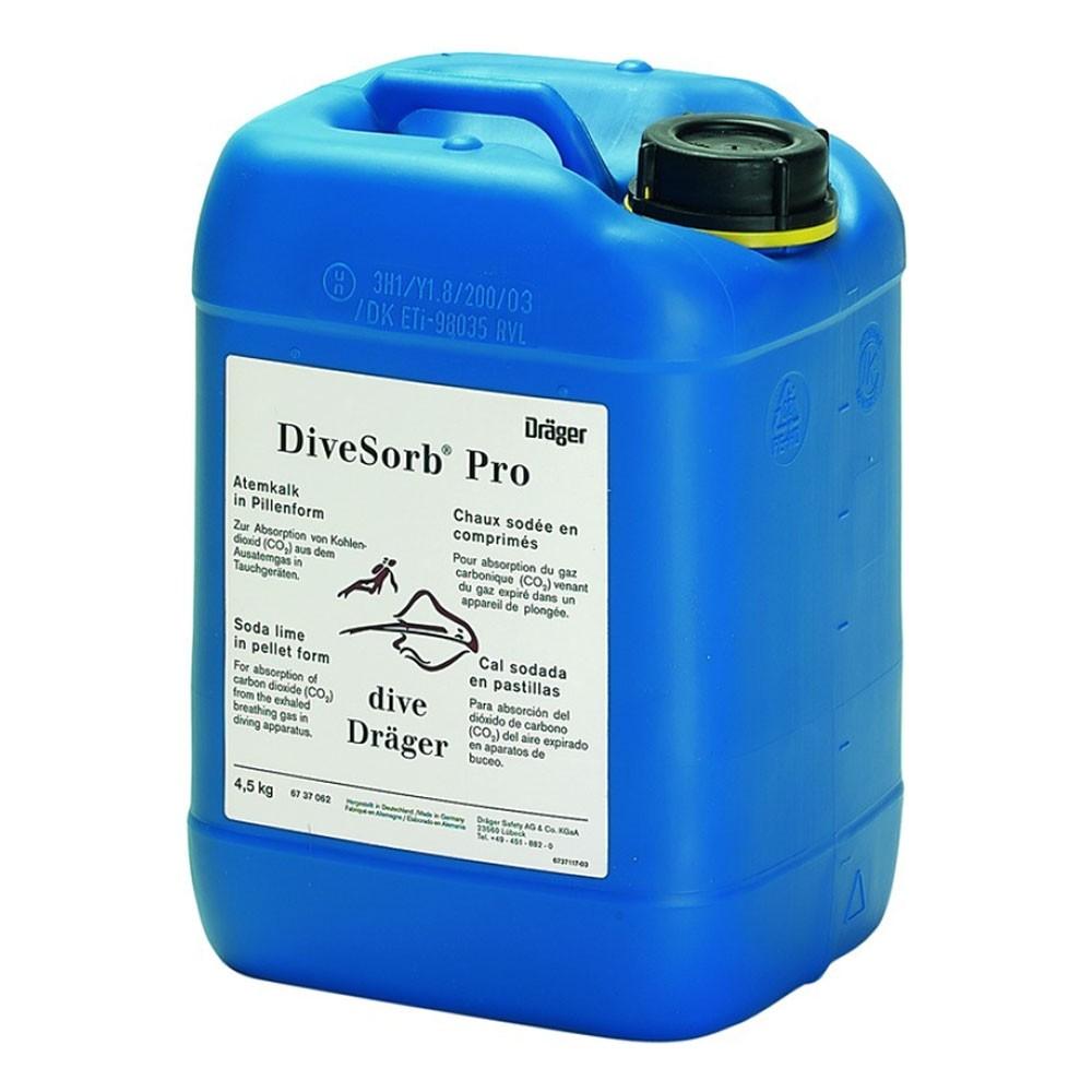 Draeger 6737062 DiveSorb® Pro Carbon Dioxide Absorbents 4 5 kg - 10 lb -  ANU Approved