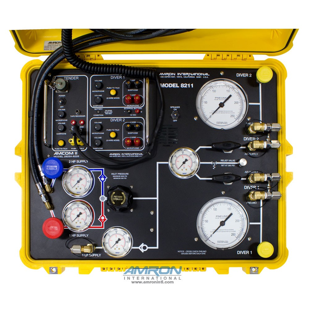 Amron International Model 8211 Compact Two Diver Air Control Surface
