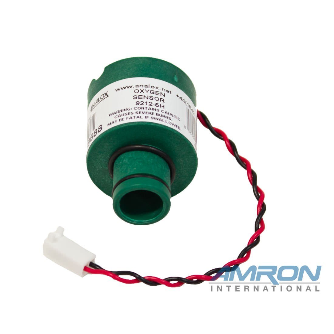 Analox Replacement Oxygen (O2) Sensor (O-2 Bar) for 100HYP MKIII and HYP O2 Portable Monitor 9100-9212-5H