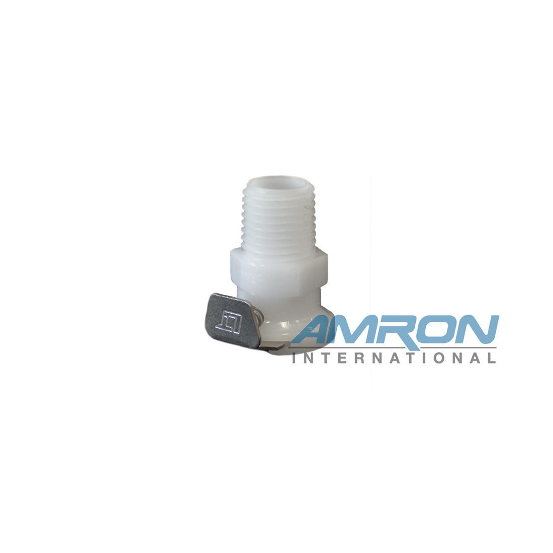 Amron International Quick Disconnect Detach Female 1/4 X 1/4IN MNPT 8895-40