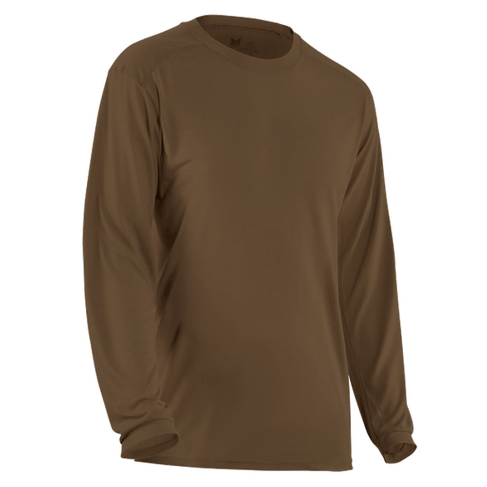 DRIFIRE Ultra-Lightweight Long Sleeve Tee - Coyote Brown
