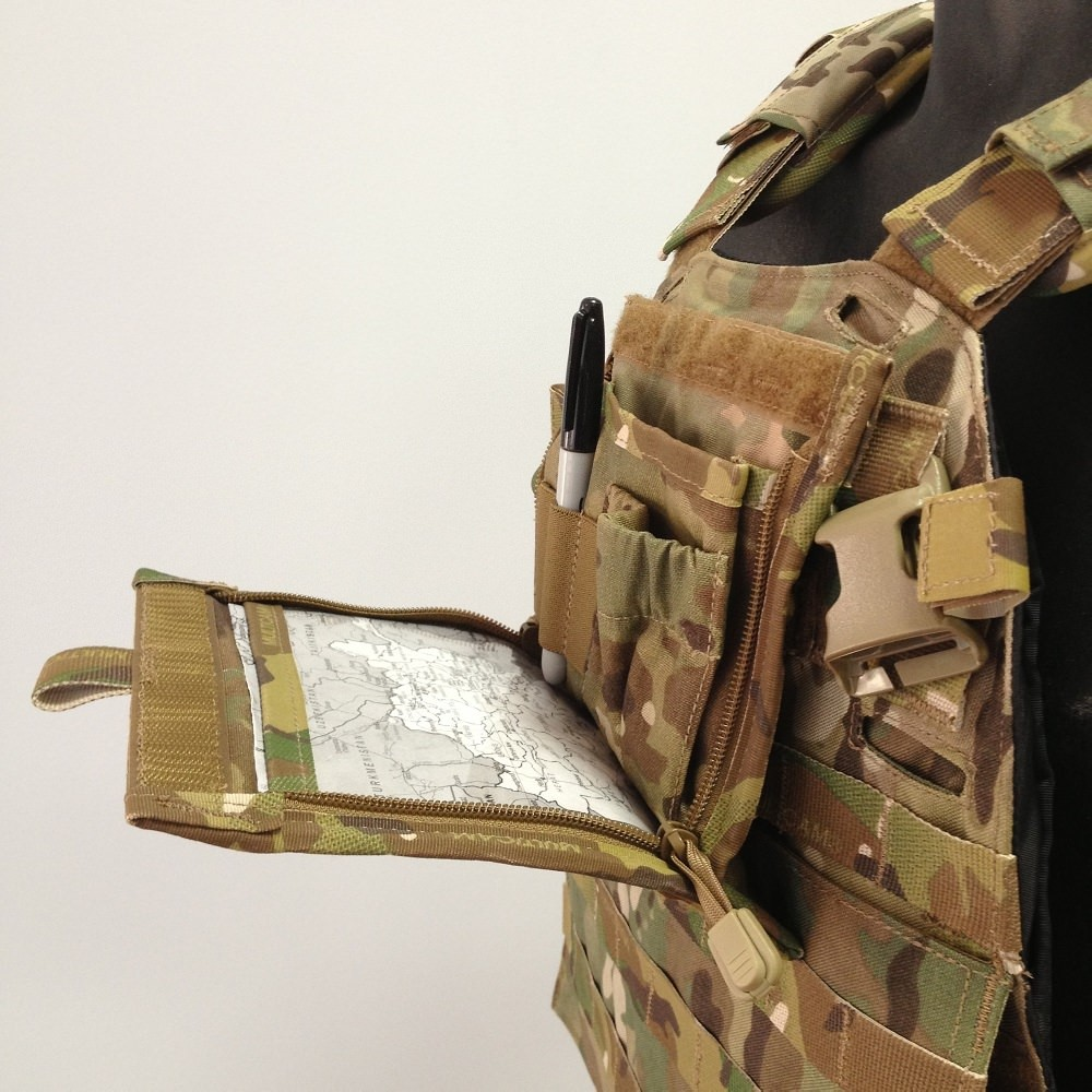 High Ground Instant Access Admin Pouch Multicam