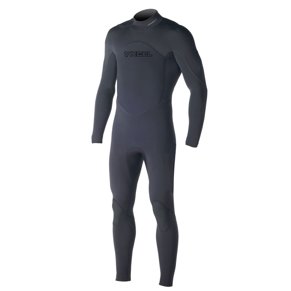 XCEL Assault Swimmer 4/3mm TDC Offset Fullsuit - Black