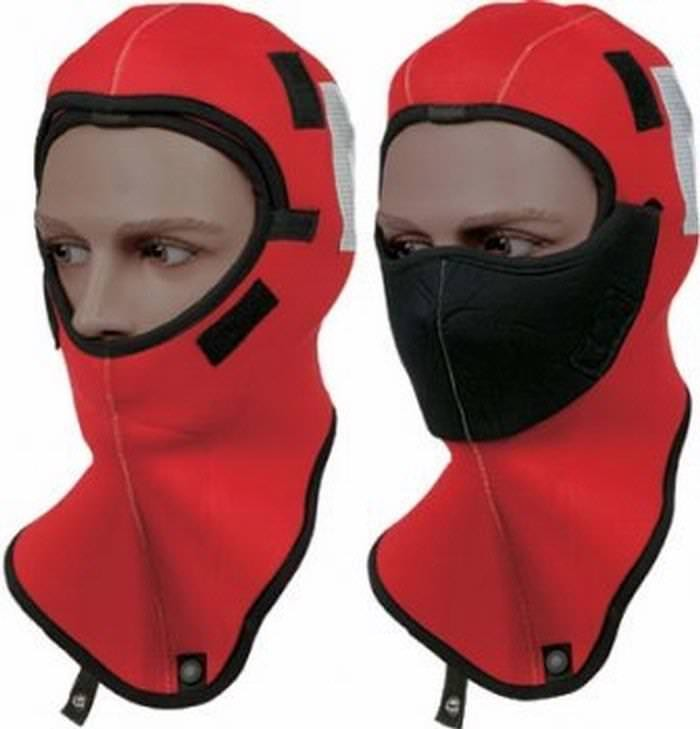 Mustang Survival Closed Cell Neoprene Survival Hood (3mm) for MSD900, MSD901, MSD585, MAC300 and MSF300 - Red - Adult Universal