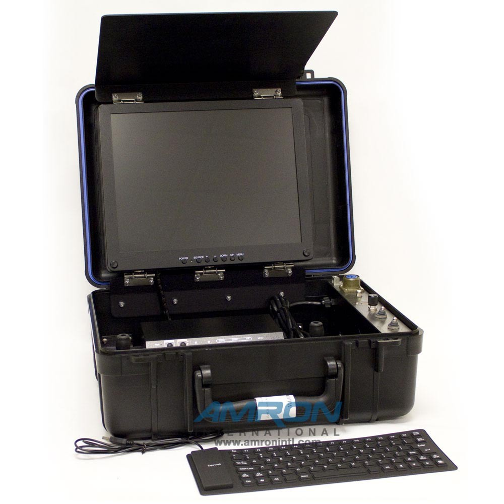 Outland Technology Video Console - HDD DVR Recorder- 15 inch Color LCD - Video Typewriter