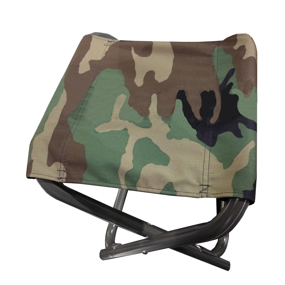 Coleman Folding Stool 13in Wide Seat 17in High Camo