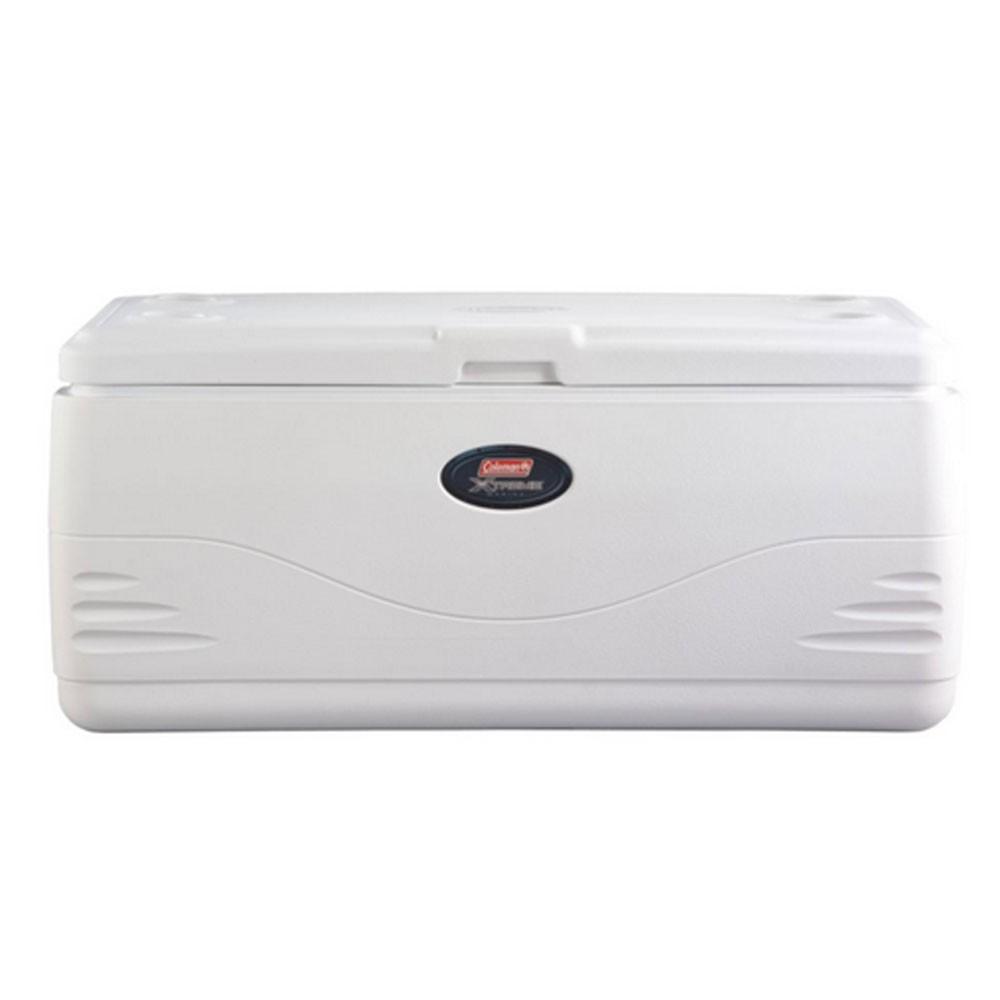 Coleman 150-Quart Xtreme 5-Day Marine Cooler - White STN-3000001526