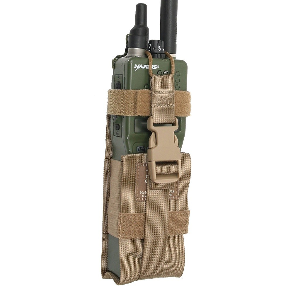 Tactical Tailor Radio Pouch Large Coyote Brown