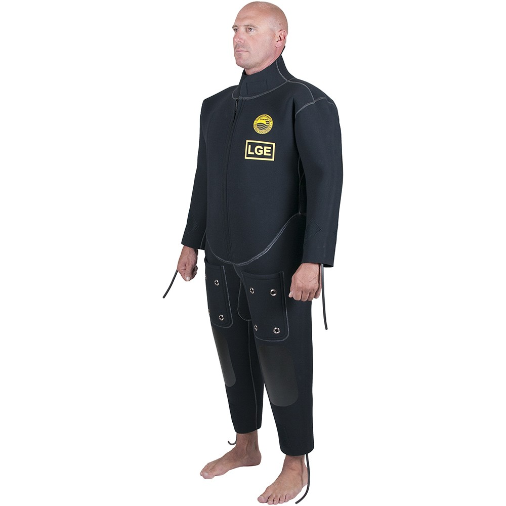 Viking Hot Water Suit - Back View
