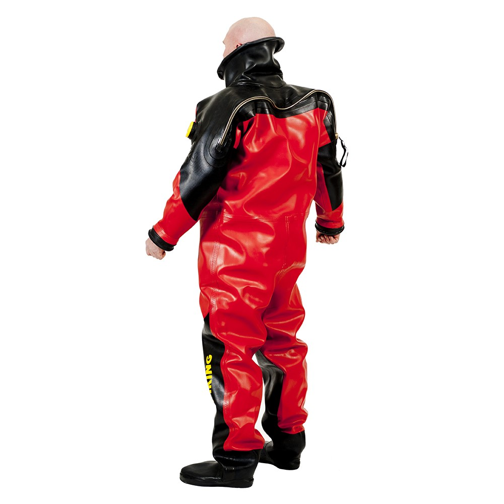 Viking HD Heavy Duty Suit with Superlite 17A/17B Yoke - Back View