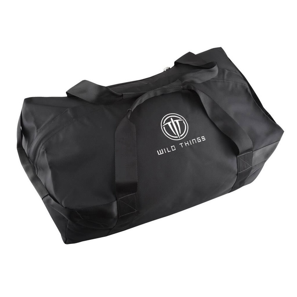 Wild Things Goat Duffel MIL - Black