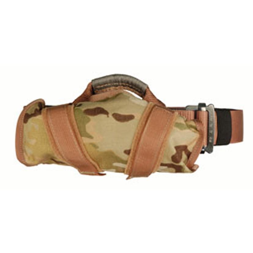 Yates Tactical Rappel Belt worn as Duty Belt on - Multicam Terra