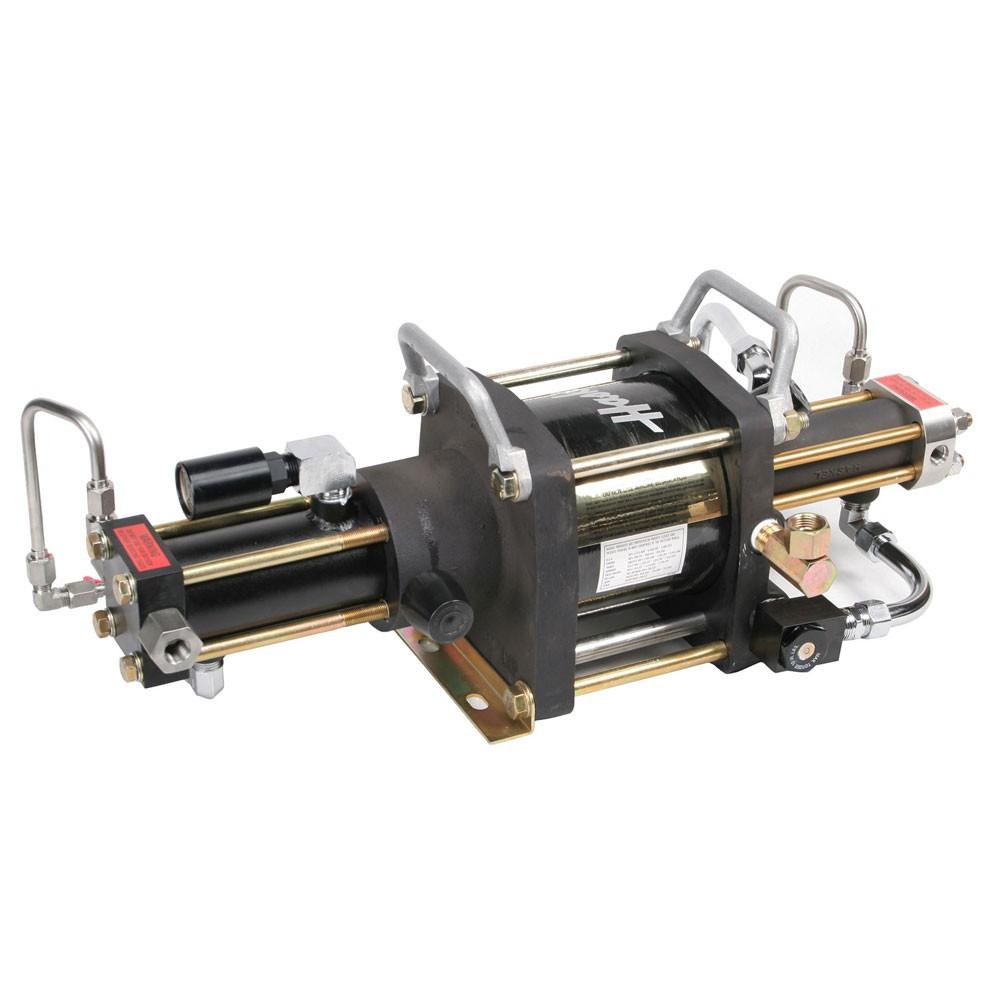 Haskel Booster Pump - Two Stage, Outlet 13,000 PSIG, Supply 50 PSIG AGT-15/75