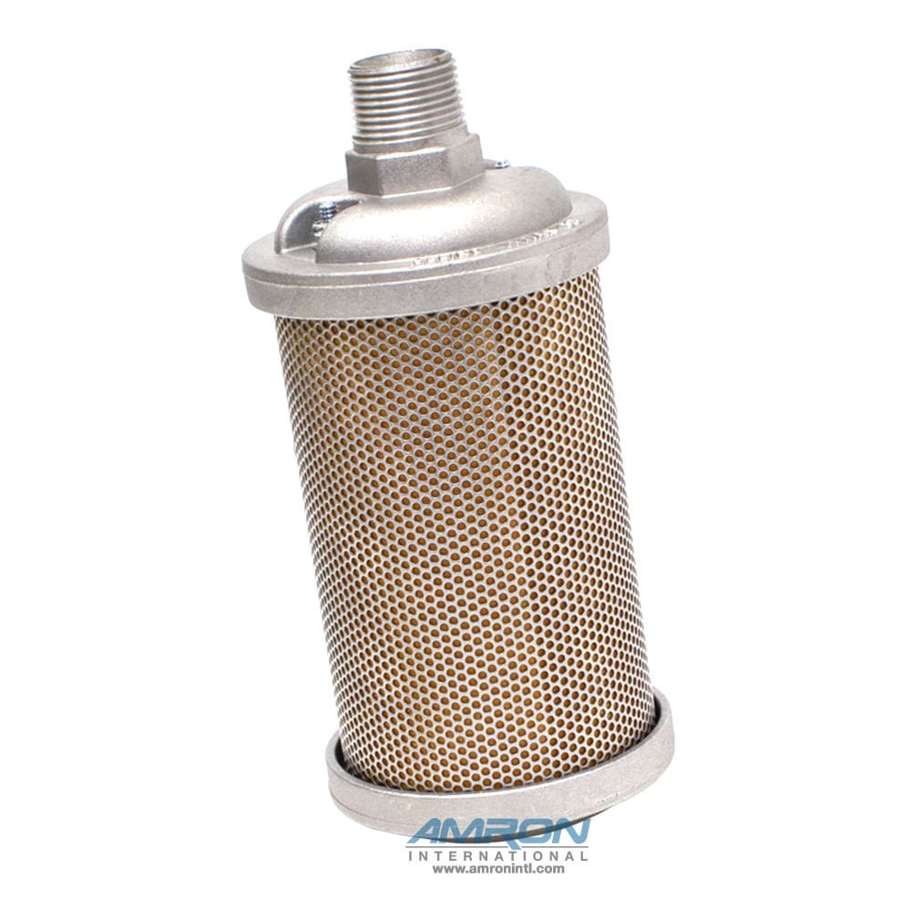 Allied Witan EP Type Muffler - M12 1-1/4 in. NPT CRS Plated. 0111012