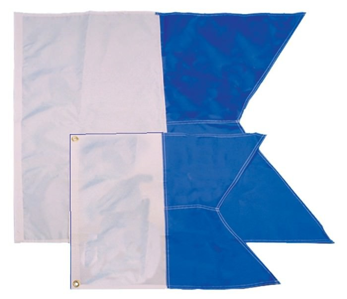 Trident Alpha Dive Flag 14 inch x 16 inch DF50