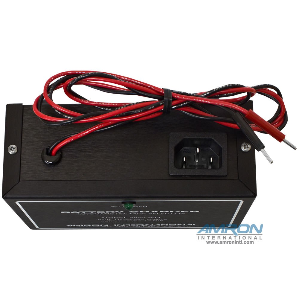 Amron 2823-603 External Battery Charger - Top