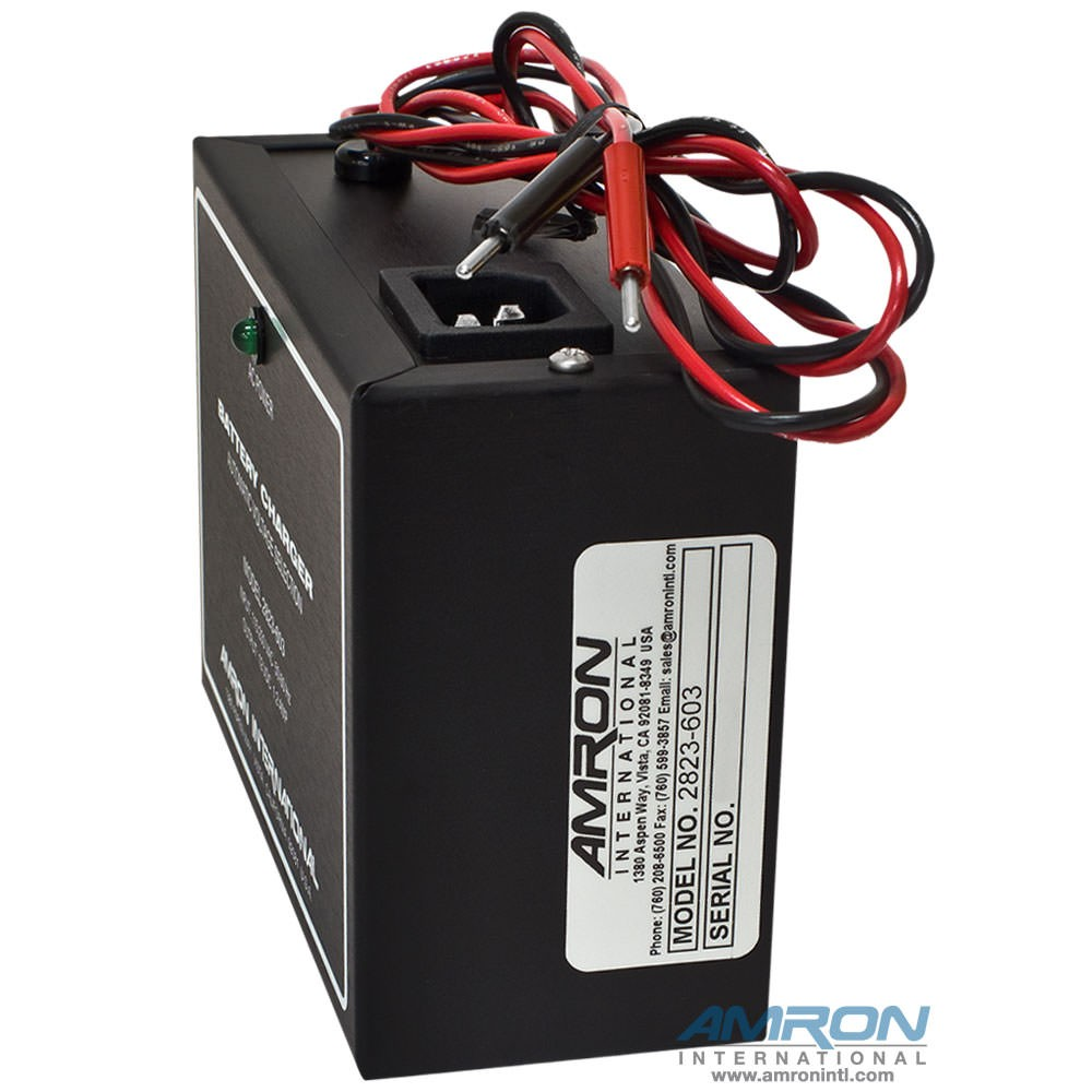 Amron 2823-603 External Battery Charger - Side