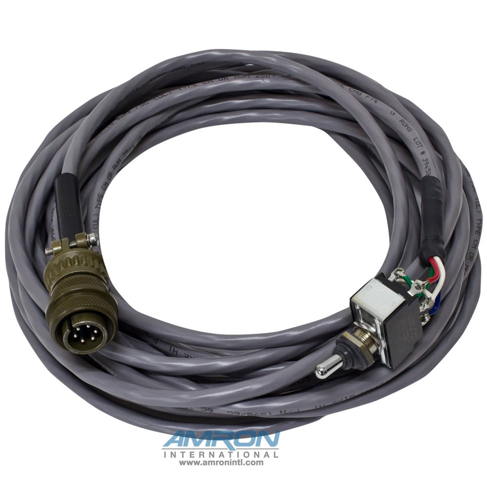 Amron International 9000-RCS Remote Control Switch with 25 Foot Cable