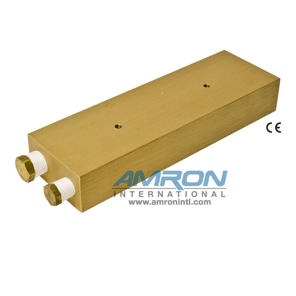 Amron International 8000-004 Chamber BIBS Manifold Block with 4 Ports- Back